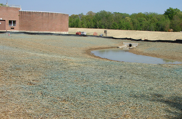 New-SWM-Inflow-Area-part-of-Dam-and-SWM-at-Broadneck-Water-Treatment-for-Anne-Arundel-County