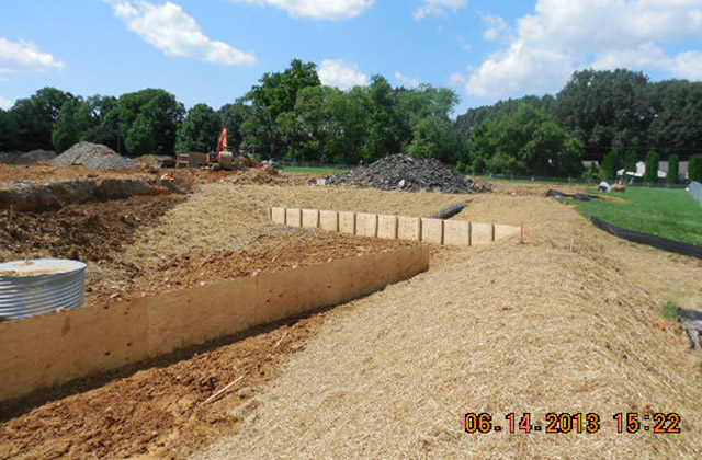 North Frederick Elem. Sediment Basin for Oak and Frederick County Public Schools